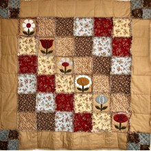 Kit Quilt Flower Rag